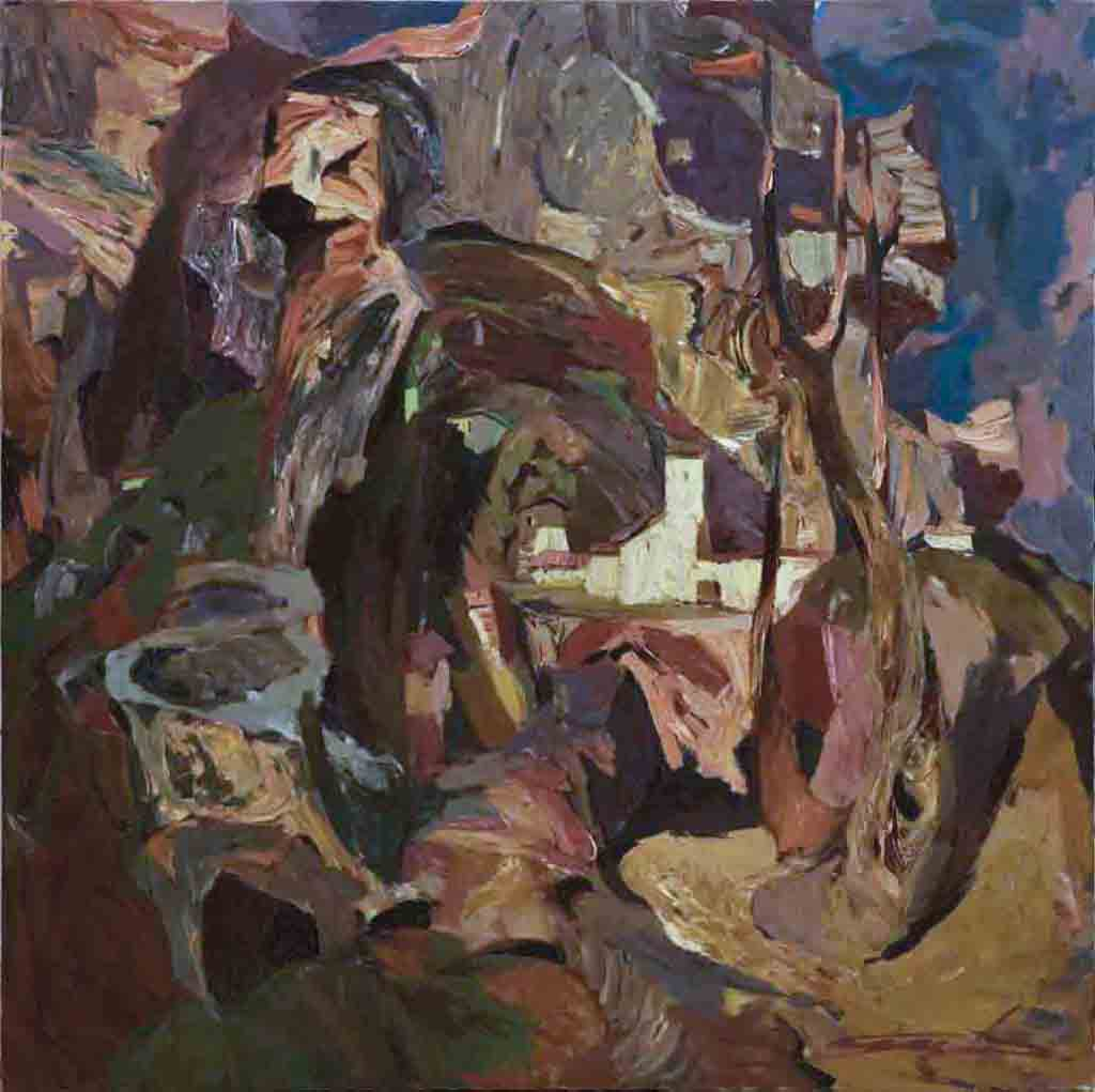 Tavrida. Canvas, oil.  Size: 150х150. Year: 2002