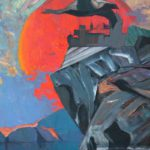 Outland (fragment). - Canvas. Oil. - 140 x 300 . - 1977